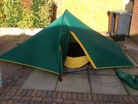 Vango Odyssey Micro 3 tent - lightweight 2 man tent