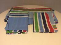 Next Double duvet set bright stripes BNWOT