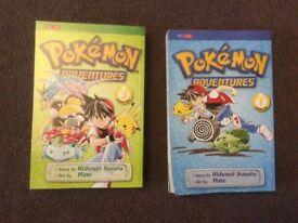 Pokemon Adventures book 1 & 3