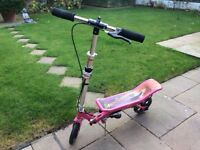 PINK 580 SPACE SCOOTER in very good condition