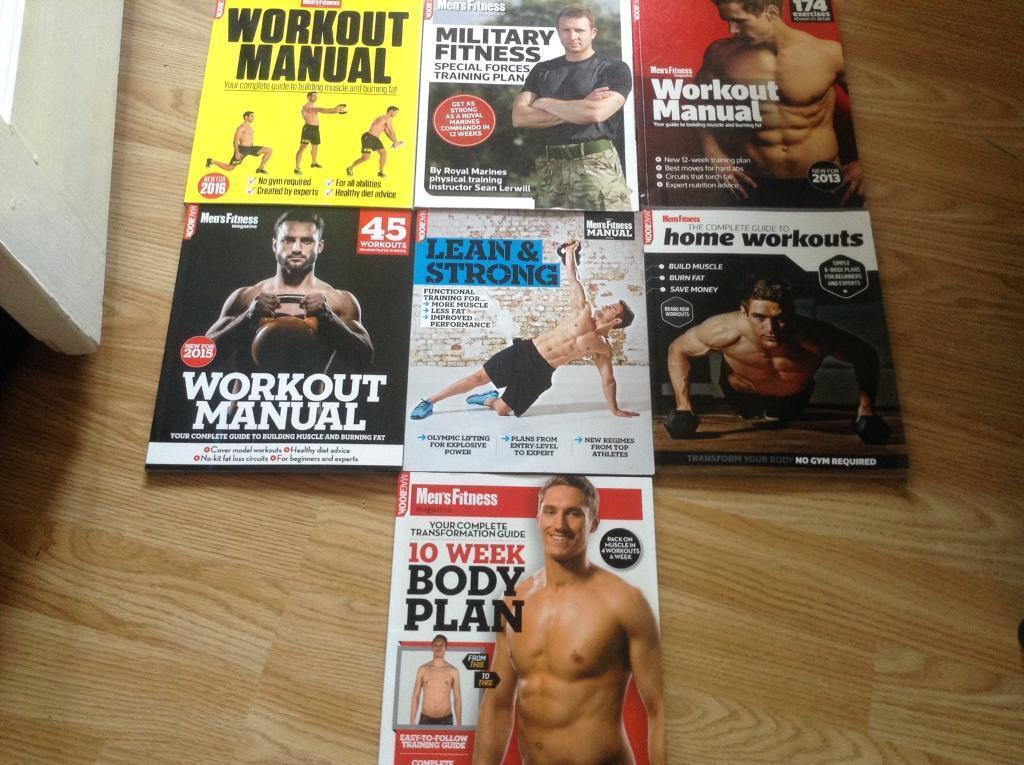 Men's mag book fitness bundle