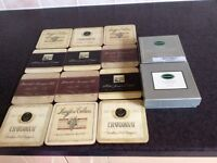 BRAND NEW , BOXED PORTMEIRION COASTERS , 2 BOXES