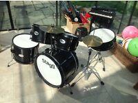 Junior Children's Stagg Drum Kit set