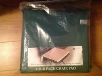 Outdoor seat cushions - four