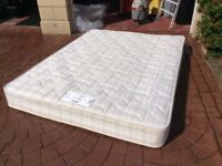 King size Myer's mattress from the Traditional Collection Cadenza range Strong inner springs