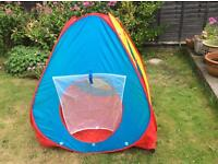 Play tent 'The Ninja Corp' children' s pop up tent 4 sided