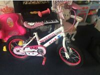 "14"" Hello kitty bike"