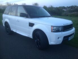 Range Rover Sport 3.0 TD V6 HSE Black Edition Auto 2013 (13 Reg) Price £24000 Finance Arranged