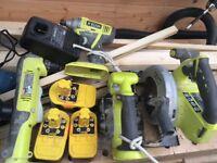 Think cordless tools