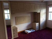 Bedroom furniture and dresser