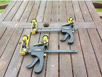 Awning tensioners