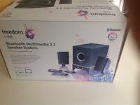 Bluetooth Multimedia 2.1 Speaker System