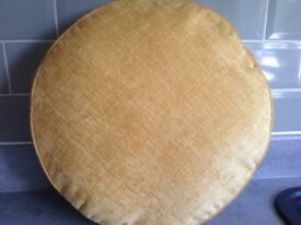 Set of four round cushions