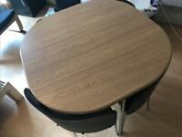 Urgent sale. Need gone today. Dining table w 4 chairs.