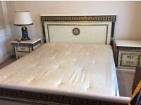 Beautiful 7 Pc Italian Bedroom Set