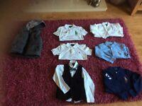Bundle of boys designer clothes age 6