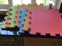 Foam jigsaw playmats