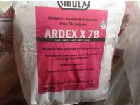 Ardex X78 tile adhesive 3x20kg bags