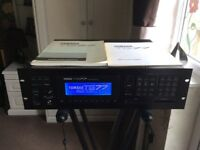 Vintage Yamaha TG77 Synthesizer Rack Module - New Display - Manuals - Fully Tested & Excellent Cond