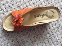 Sandals & Matching Handbag