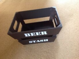 Brand new beer crate