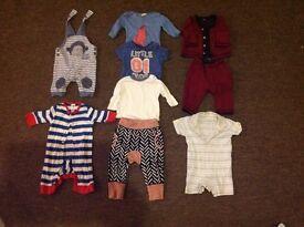 Cool Boys 0-3 Months Clothes Bundle inc. Boden; John Rocha; Jo Jo; Jasper Conran