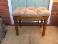 Ducal Victoria Pine Dressing Table Stool
