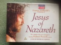Jesus of Nazareth ( box set videos)