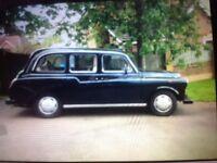 Classic London Taxi Cab, 1996, iconic car bodies Fairway design.