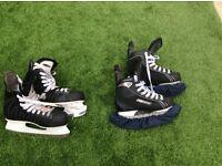 Ice skating boots