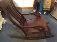 Wooden Rocking Chair - very comfy
