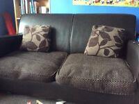 2 seater sofa , sofa bed.