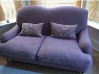 Laura Ashley sofa and cushions