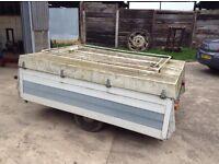 Ex trailer tent braked 500kg