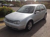 Silver golf 1.9 gti tdi, 5 door,
