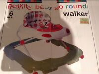 For Sale Red kite Baby Walker Very good condition as spare at grandparents house