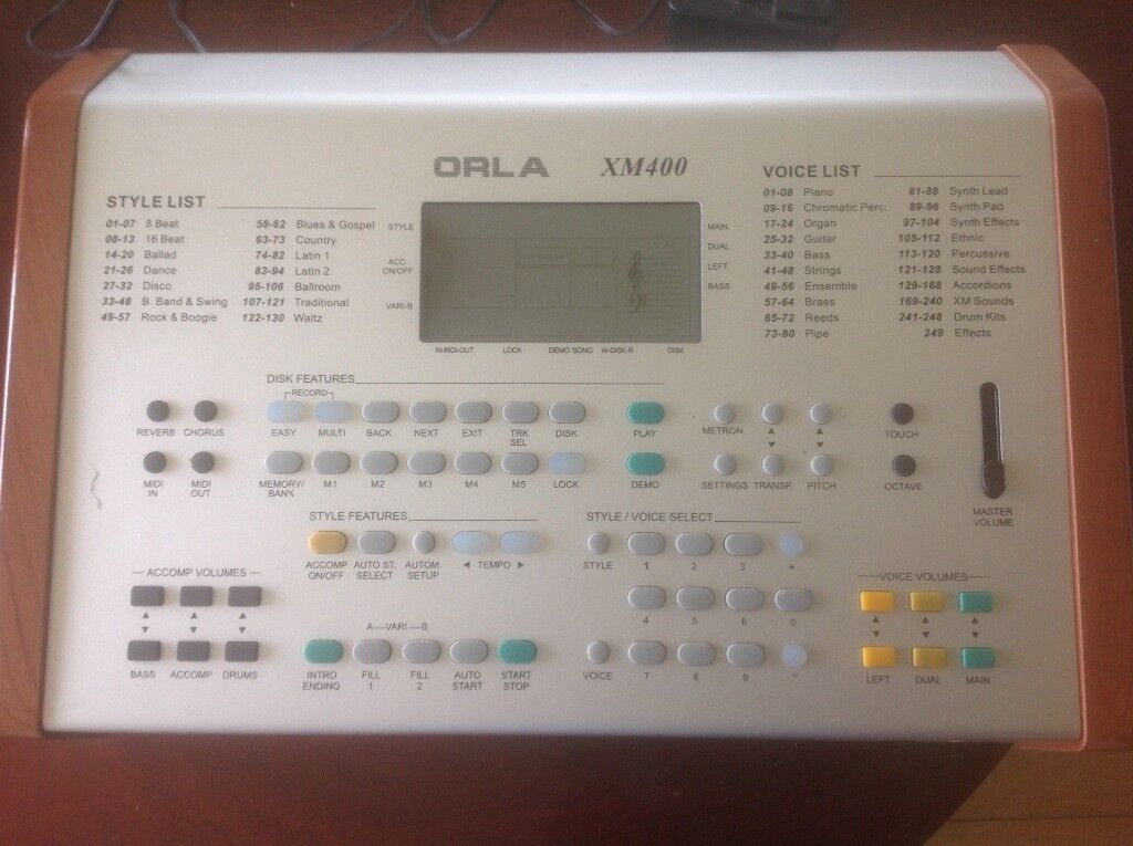 ORLA XM 400 Midi Expander Keyboards and Accordions | in Aberdeen | Gumtree