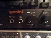 Gemini pa 700 pre amplifier
