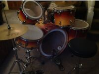 FOR SALE - **REDUCED** 7 Piece Drum Kit