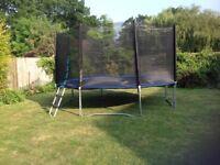14ft Trampoline £100
