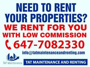 Need to rent your properties???