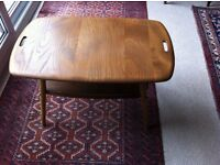 Vintage Ercol two tier Butler's coffee table.