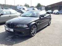 BMW 3 Series 3.0ci 2dr M-SPORT+SATNAV+FULL LEATHER! 2001 (X reg), Convertible