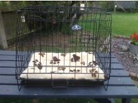 Easipet Crate, suitable for puppy or small dog for car or home