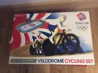 Scalextric set velodrome cycling set team GB