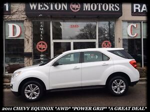 2011 Chevrolet Equinox LS *AWD *POWER GRIP *BLUETOOTH *AMAZING D