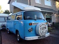 Volkswagen campervan westfalia T2 1973 lovely