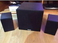 Cambridge Audio Siroco 2.1 speaker system