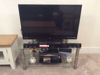 """Glass TV stand - up to 42"""" TVs"""