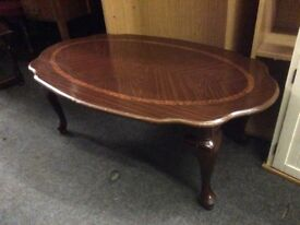 Reduced coffee table